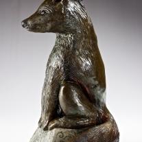 Le loup, le renard et le corbeau (détail 1)